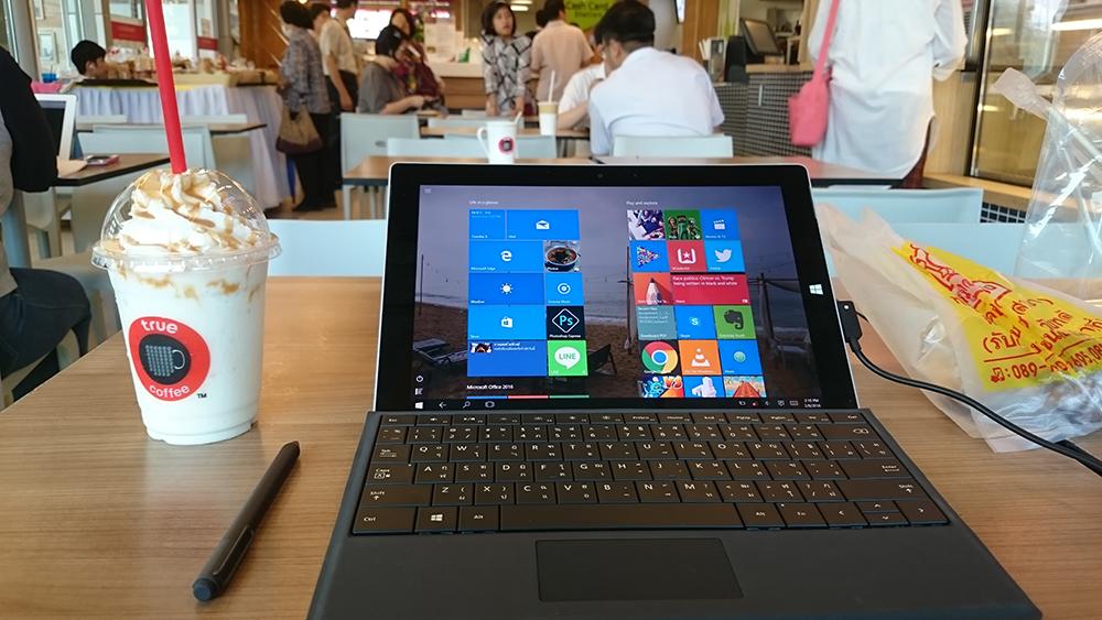 รีวิว Surface 3 หลังจากการใช้งานมาทั้งอาทิตย์