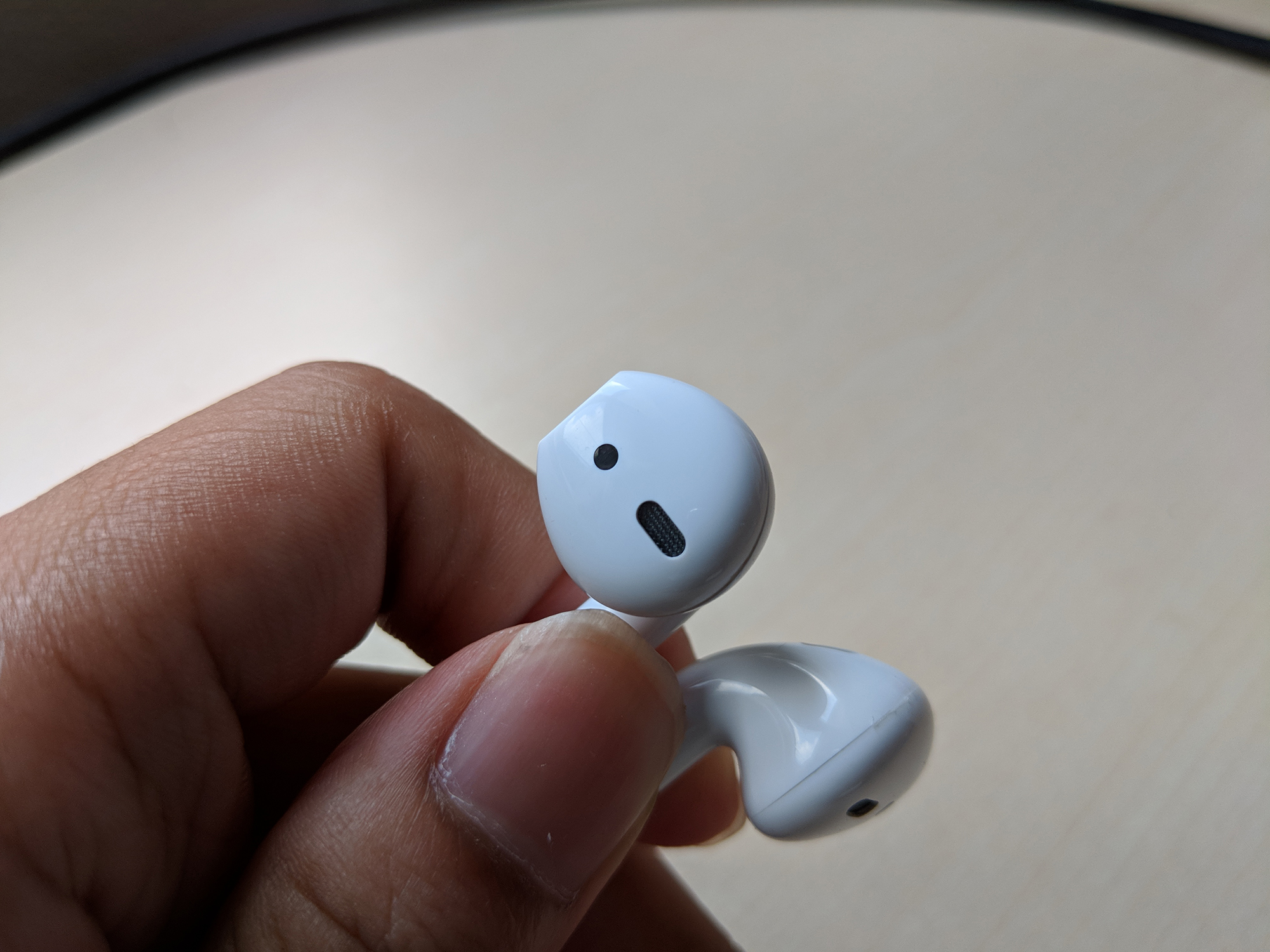 AirPods Front View