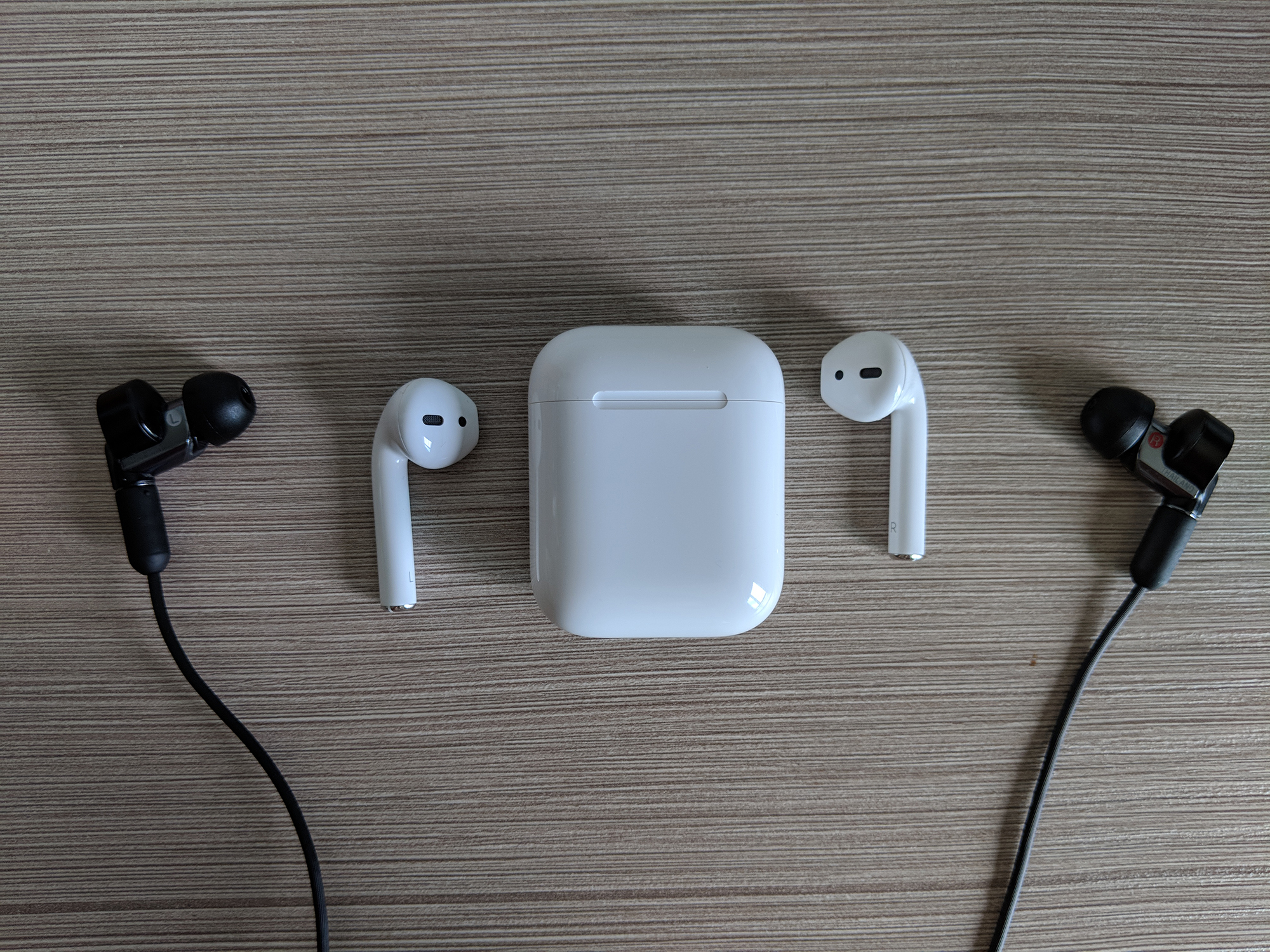 AirPods with Sony XBA-N1AP