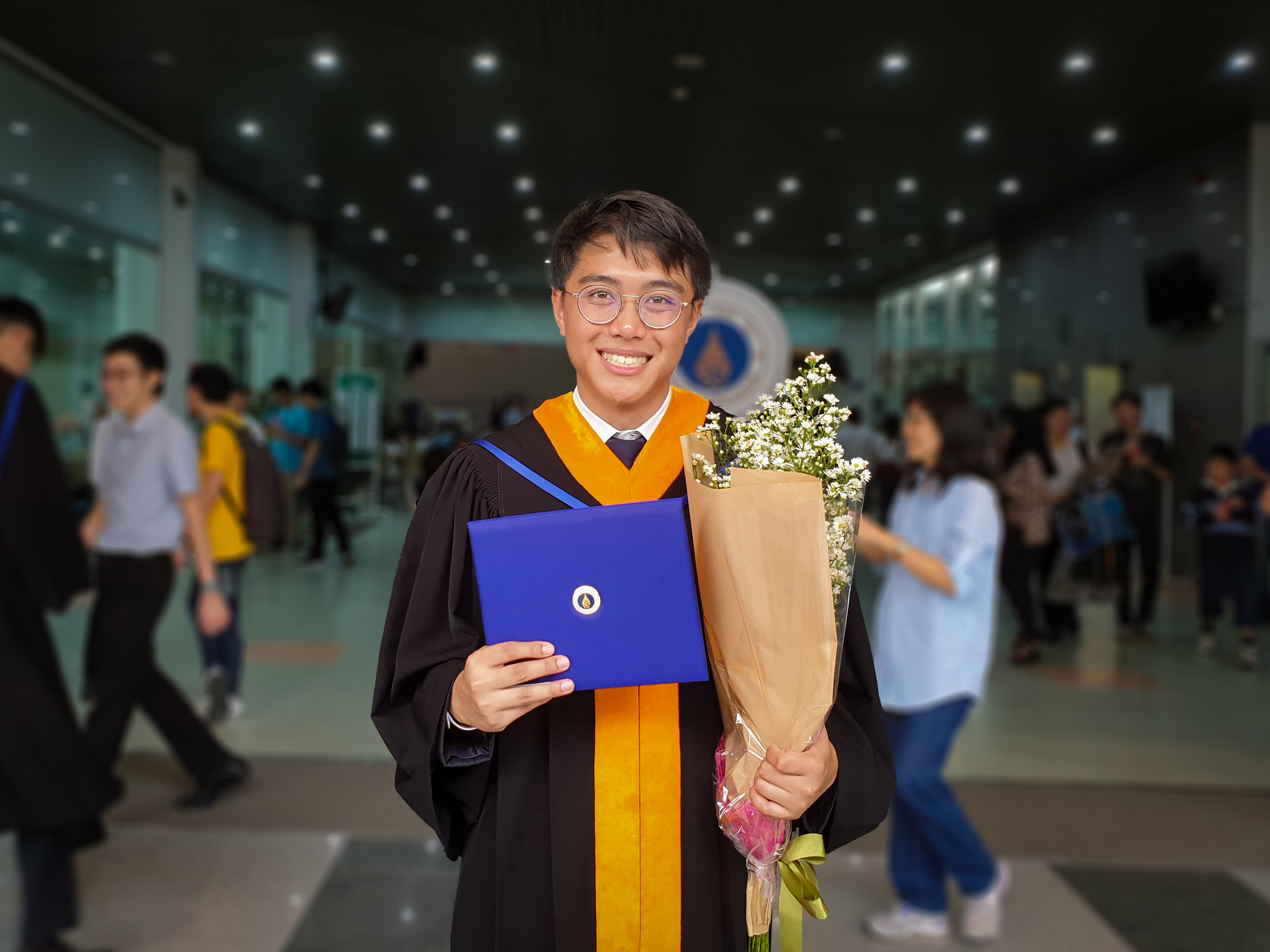 Me with Graduation