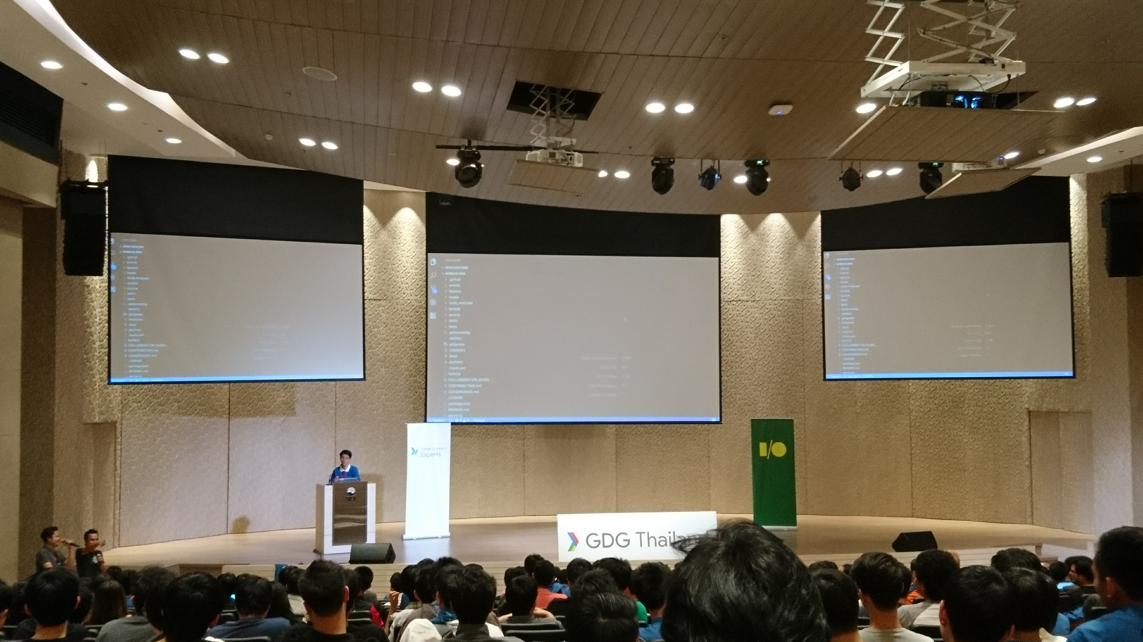 Google I/O Extended Bangkok 2017 Live Coding