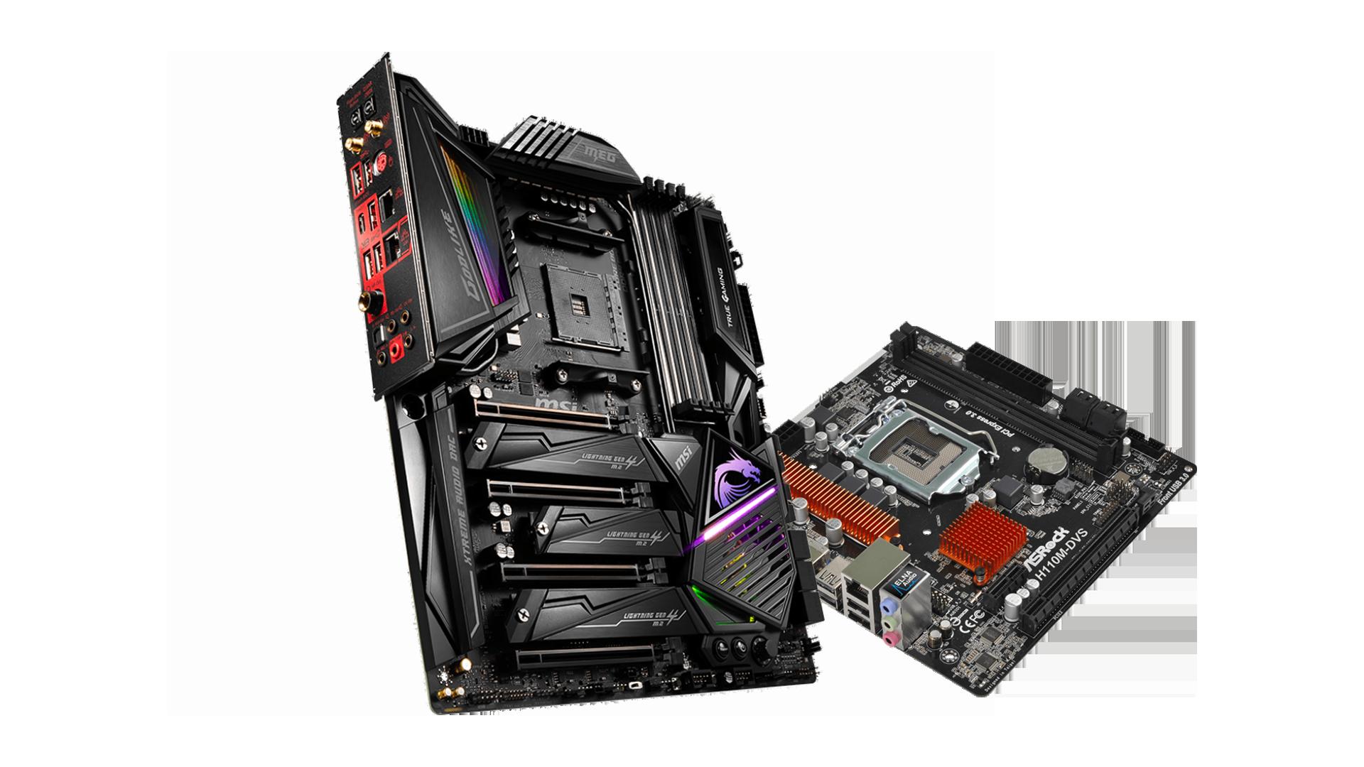 เลือกประกอบ PC Motherboard