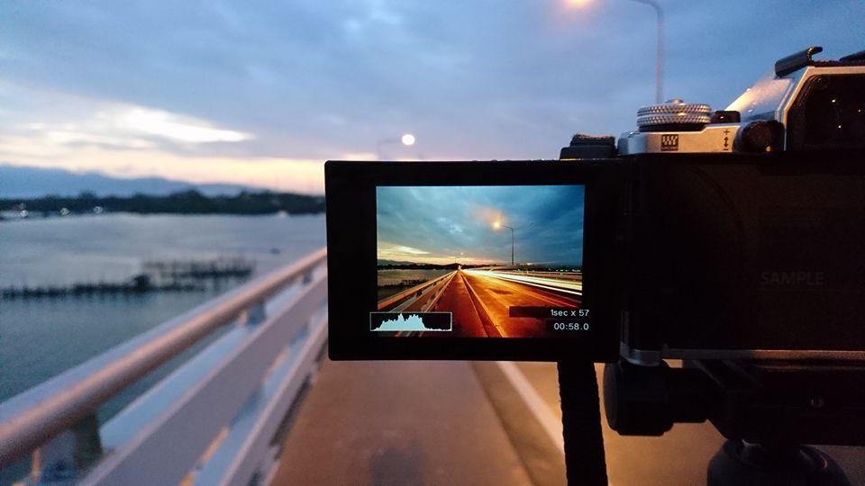 Live Composite in Olympus Cameras