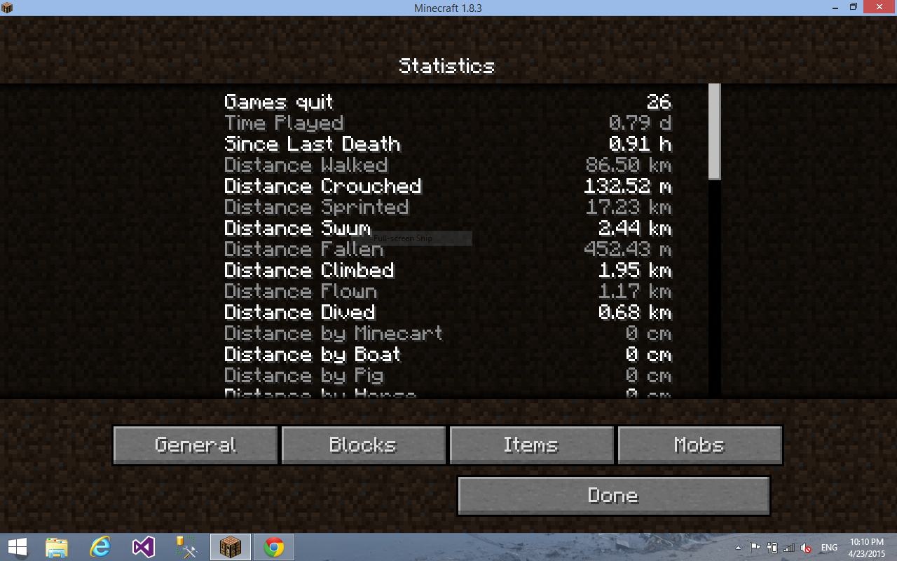 minecraftStat