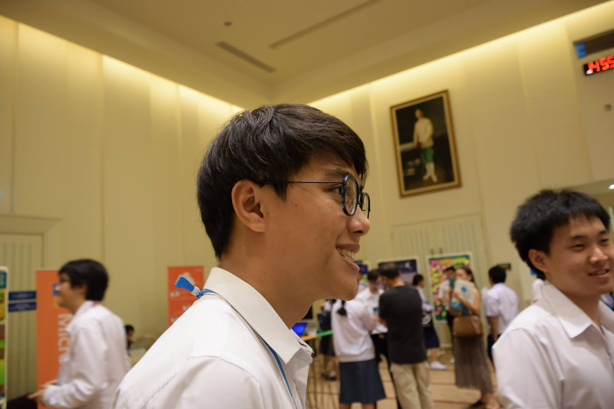 Me @ muict open house 2017