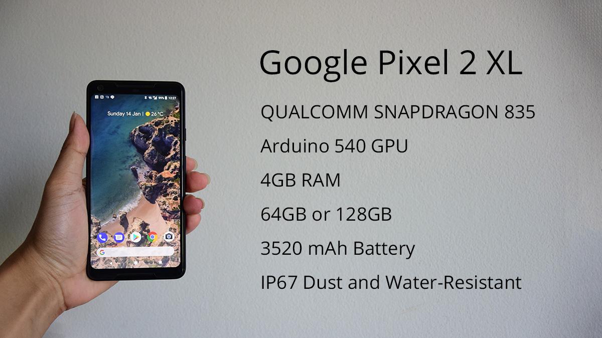 Google Pixel 2 XL Spec