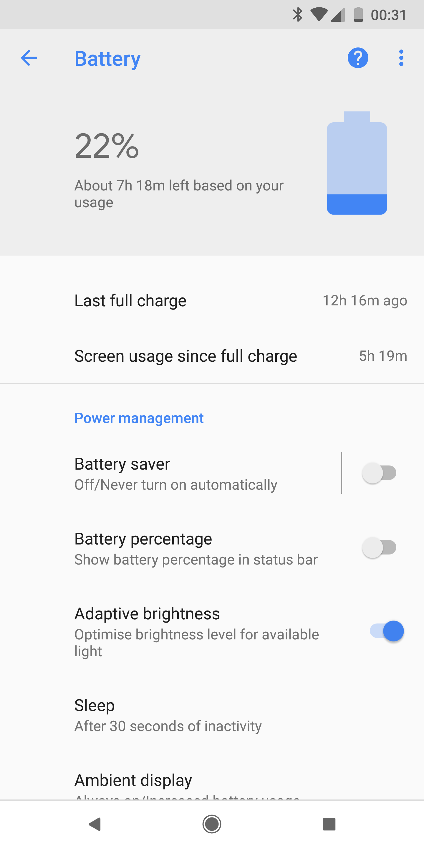 Google Pixel 2 XL Battery