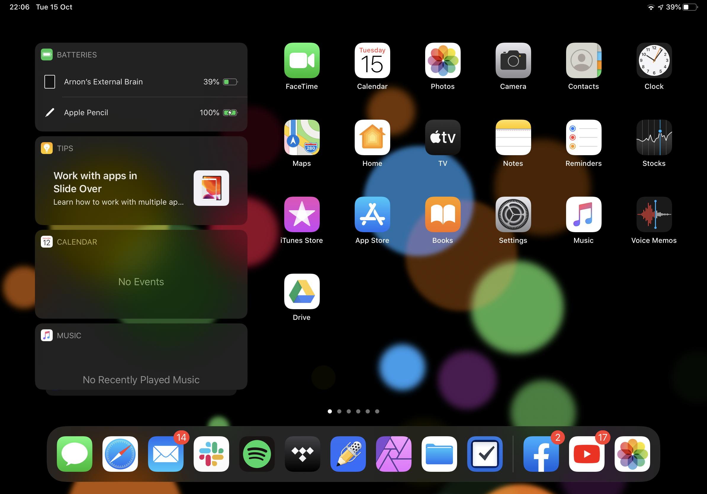 รีวิว iPad OS