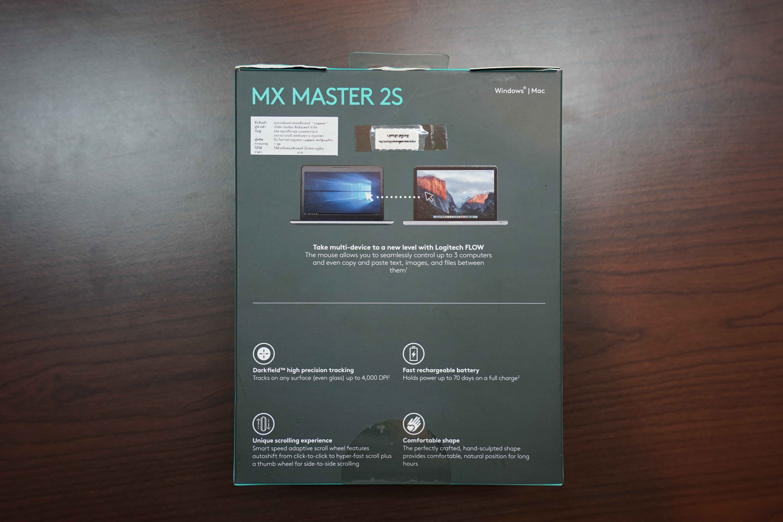 Logitech MX Master 2S Back