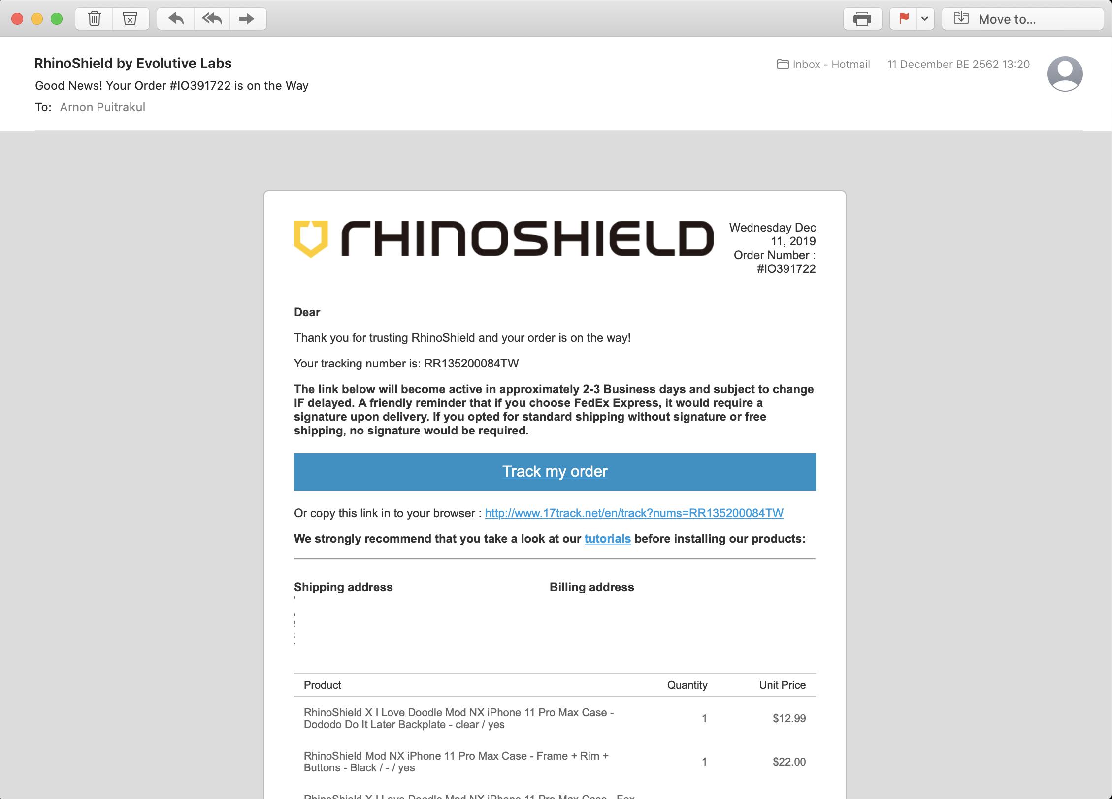 รีวิว Rhinocase Mod NX
