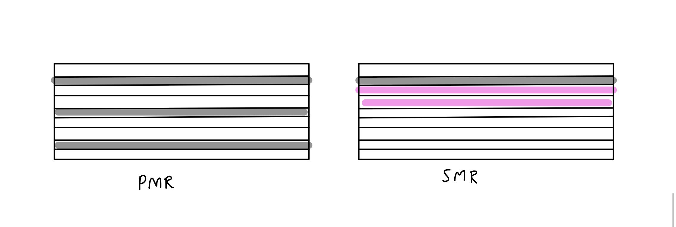SMR vs PMR