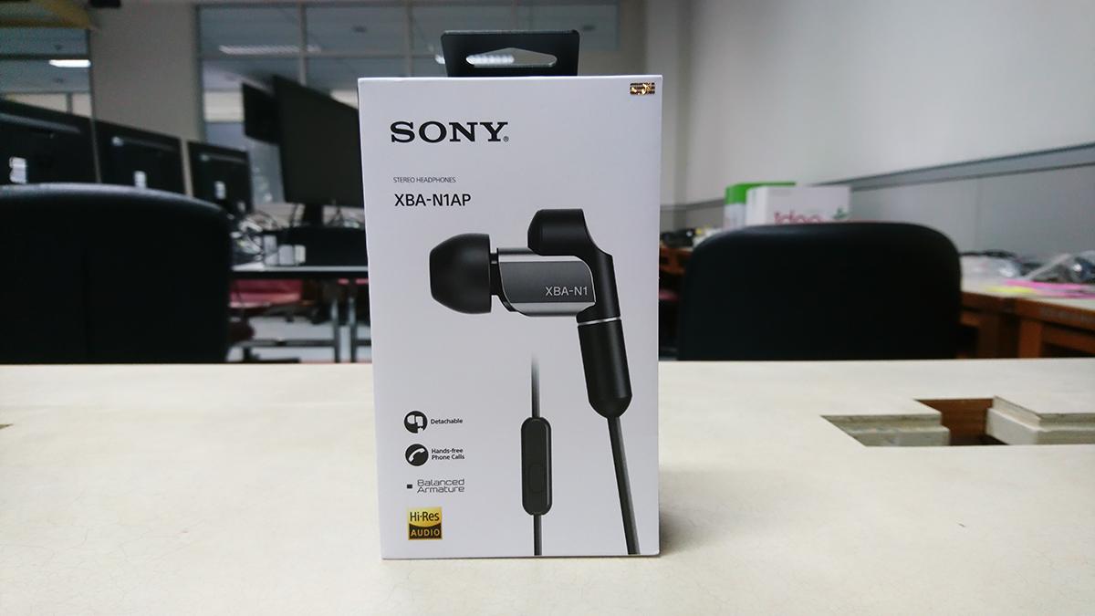 Sony XBA-N1AP Box