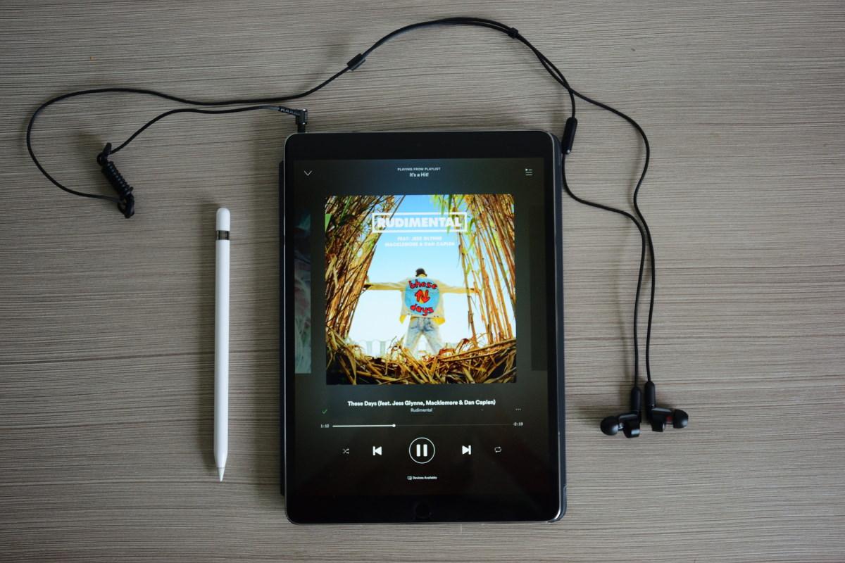 Sony XBA-N1AP with iPad Pro