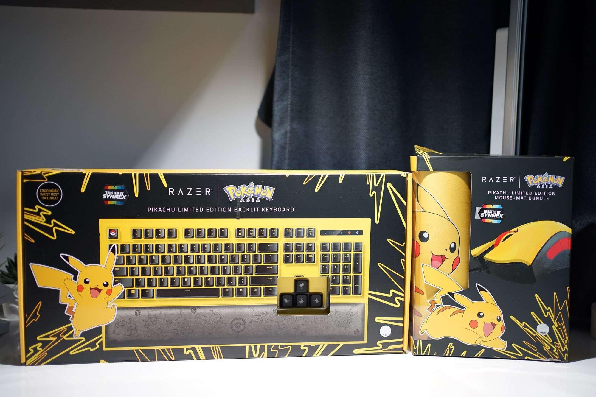 Razer x Pokémon Pikachu Edition