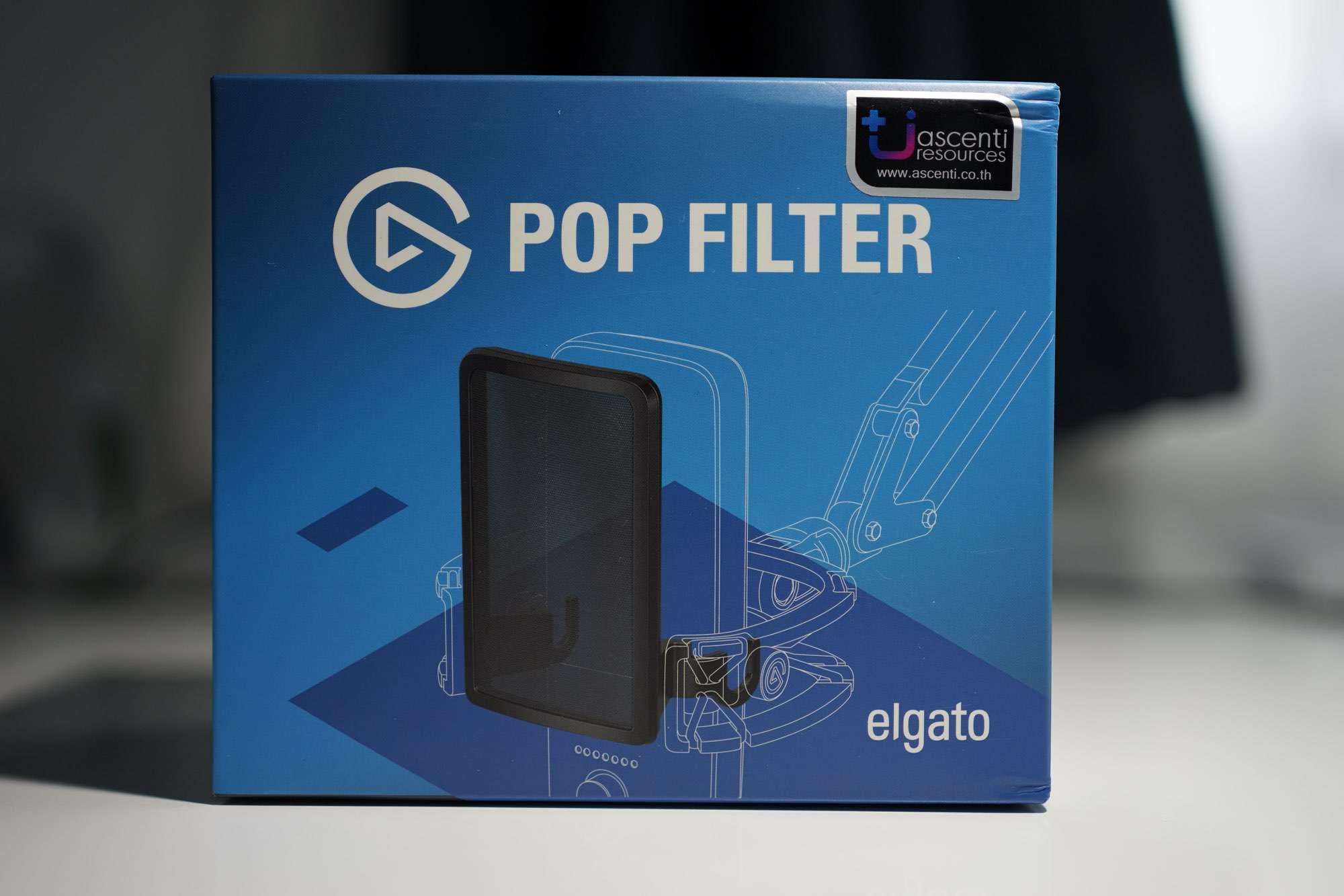 รีวิว Elgato Wave Pop Filter
