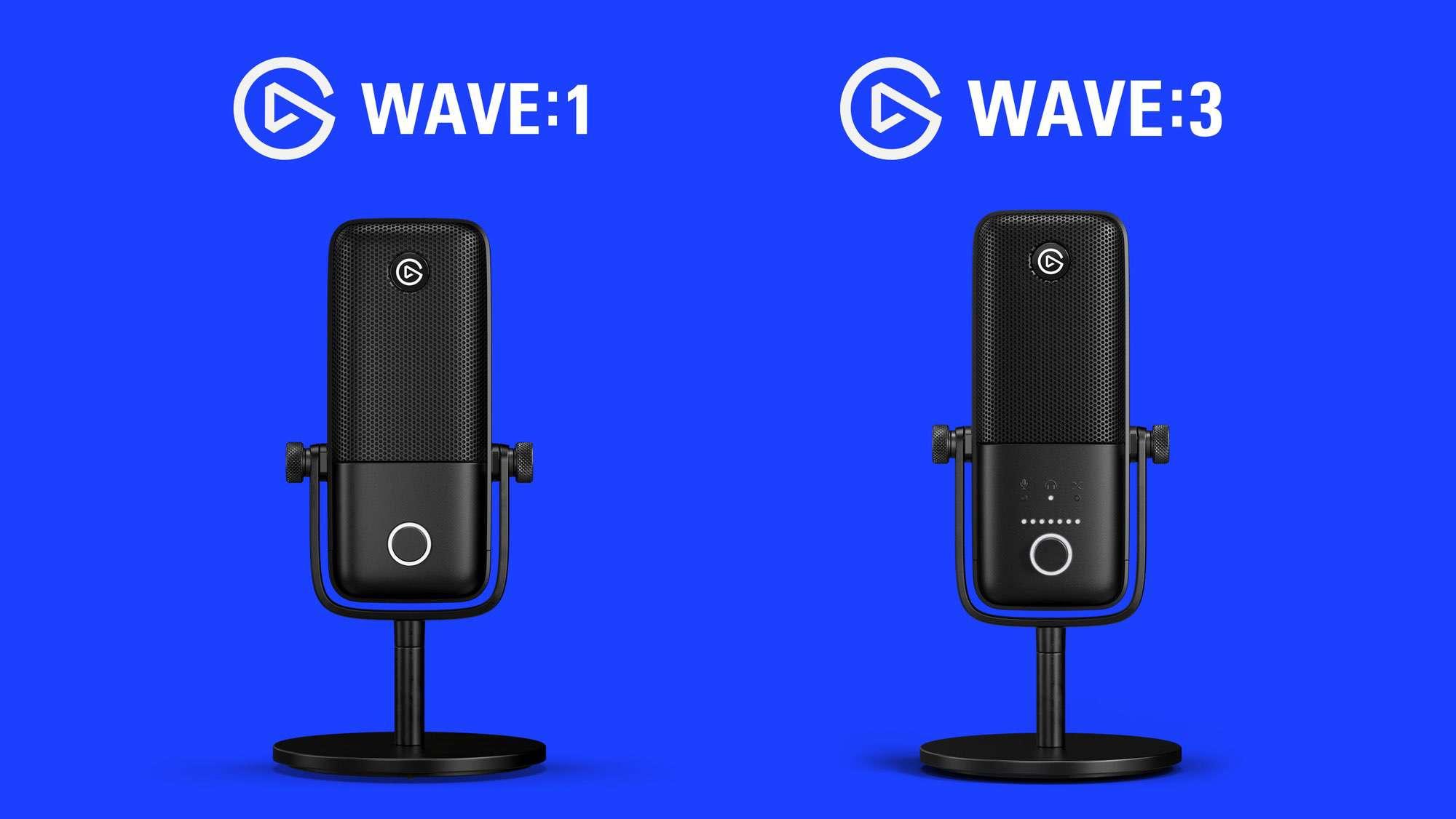 Elgato Wave:1 vs Wave:3
